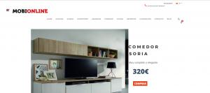 Diseño y programación tienda online Mobionline http://www.santcugatonline.com