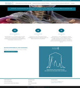 Diseño y programación web Biotechpromed http://santcugatonline.com